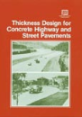 Thickness Design for Concrete Highway and Street Pavements (EB109|PRINTED)