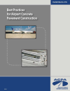 Best Practices for Airport Concrete Pavement Construction (EB102|PDF)