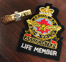 AFAC Life Member Blazer Badge and Bar