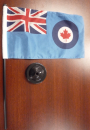 RCAF desk Ensign