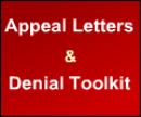 Appeal Letters & Denial Toolkit