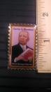 Carter G. Woodson Stamp Lapel Pin