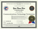 CTT Wall Certificate For FCC License Holders