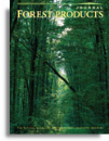 Forest Products Journal Institutional Subscription - Electronic & Print