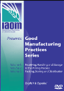 Good Manufacturing Practices 3 part DVD