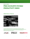 PRGX AP Productivity Index (2012) + Premium Individual Membership