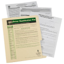 Driver Qualification File Packet(1242)