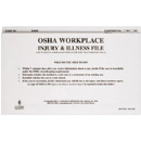 Workplace Injury & Illness File Folder(OSHA) 7365
