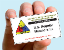 U.S.A. Membership 2nd Class Postage 2-Years