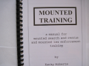 Mounted Training: A Manual for Mounted Search and Rescue