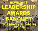 2018 Leadership Awards Banquet -Tuesday (7-10PM)