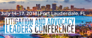 2018 Litigation & Advocacy Leaders Conference