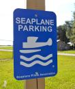 Seaplane Parking Sign