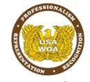 USAWOA Adhesive Backed Decal